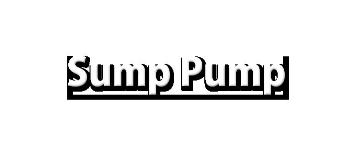 Fountian City Sump-Pump