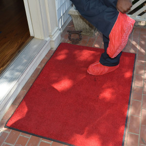 Knoxville Plumbing Red Carpet Treatment and Floor Protectors