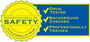 Knoxville Plumber Technician Seal of Safety