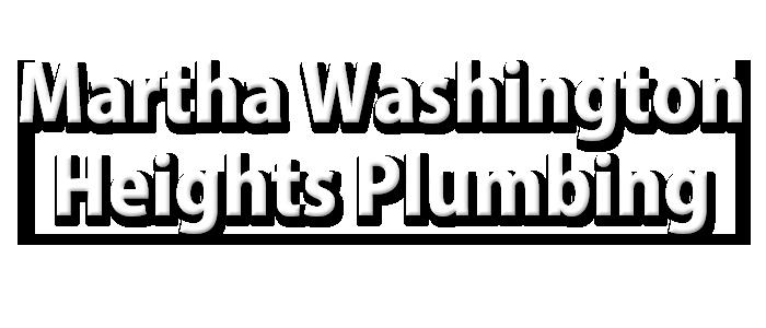 Martha Washington Heights Plumbing