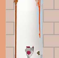 Water Heater Leak in Knoxville Tennesee
